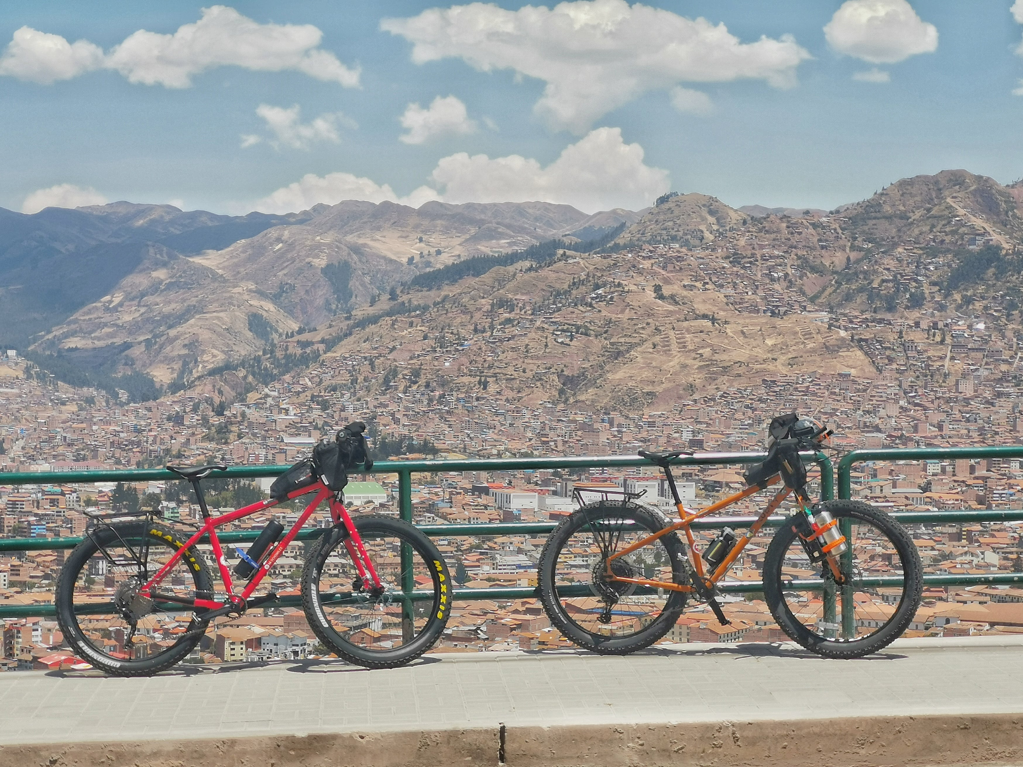 kilometro cero en el cusco bikepacking blog post photo