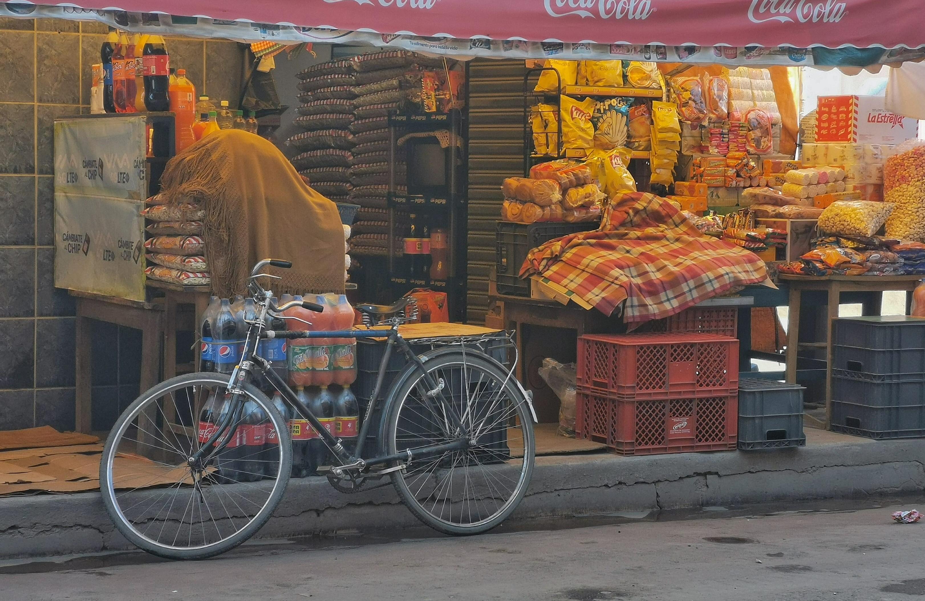 la paz desiertos by bike photo
