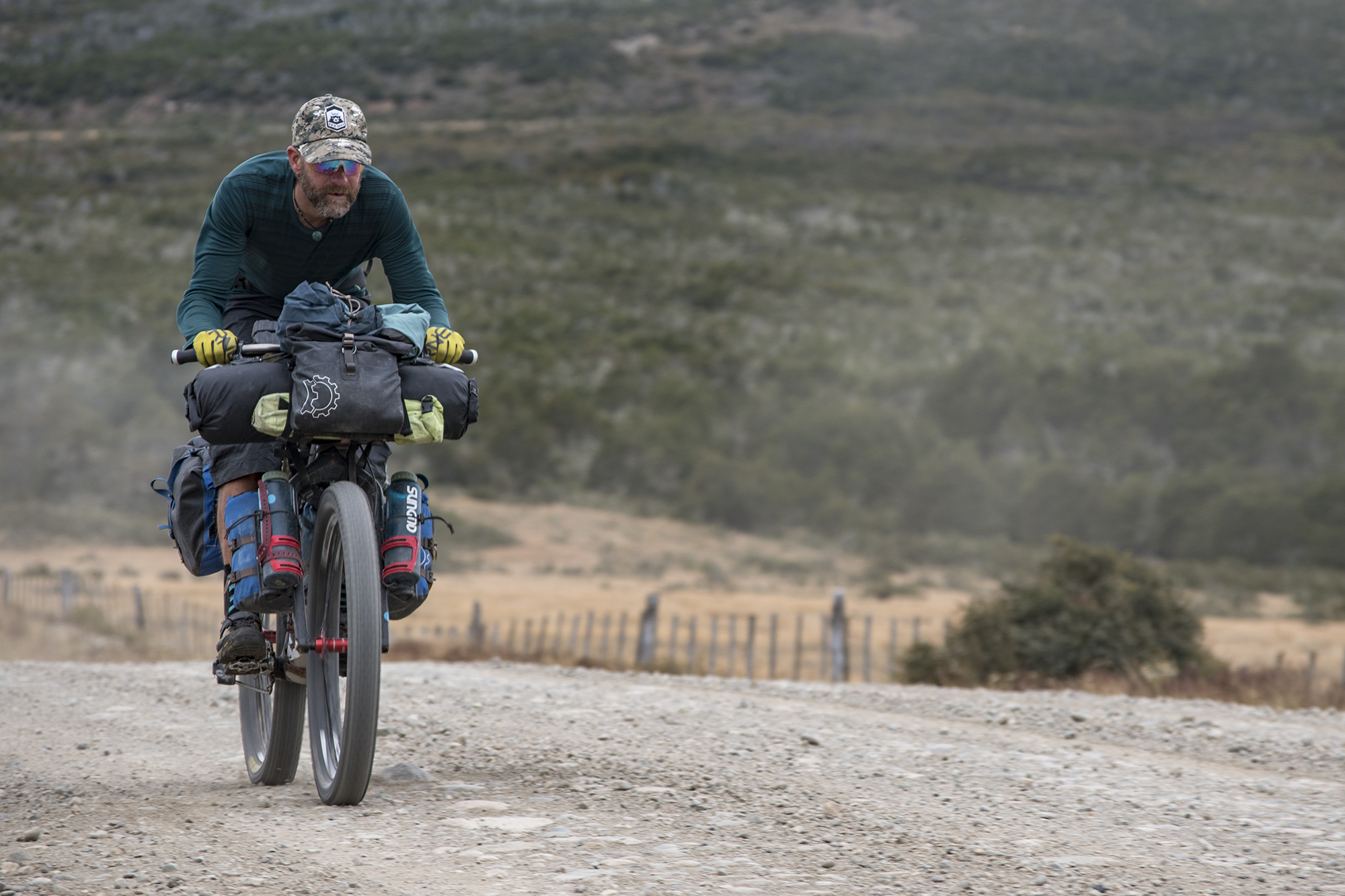 goteras de la patagonia photos bikepacking