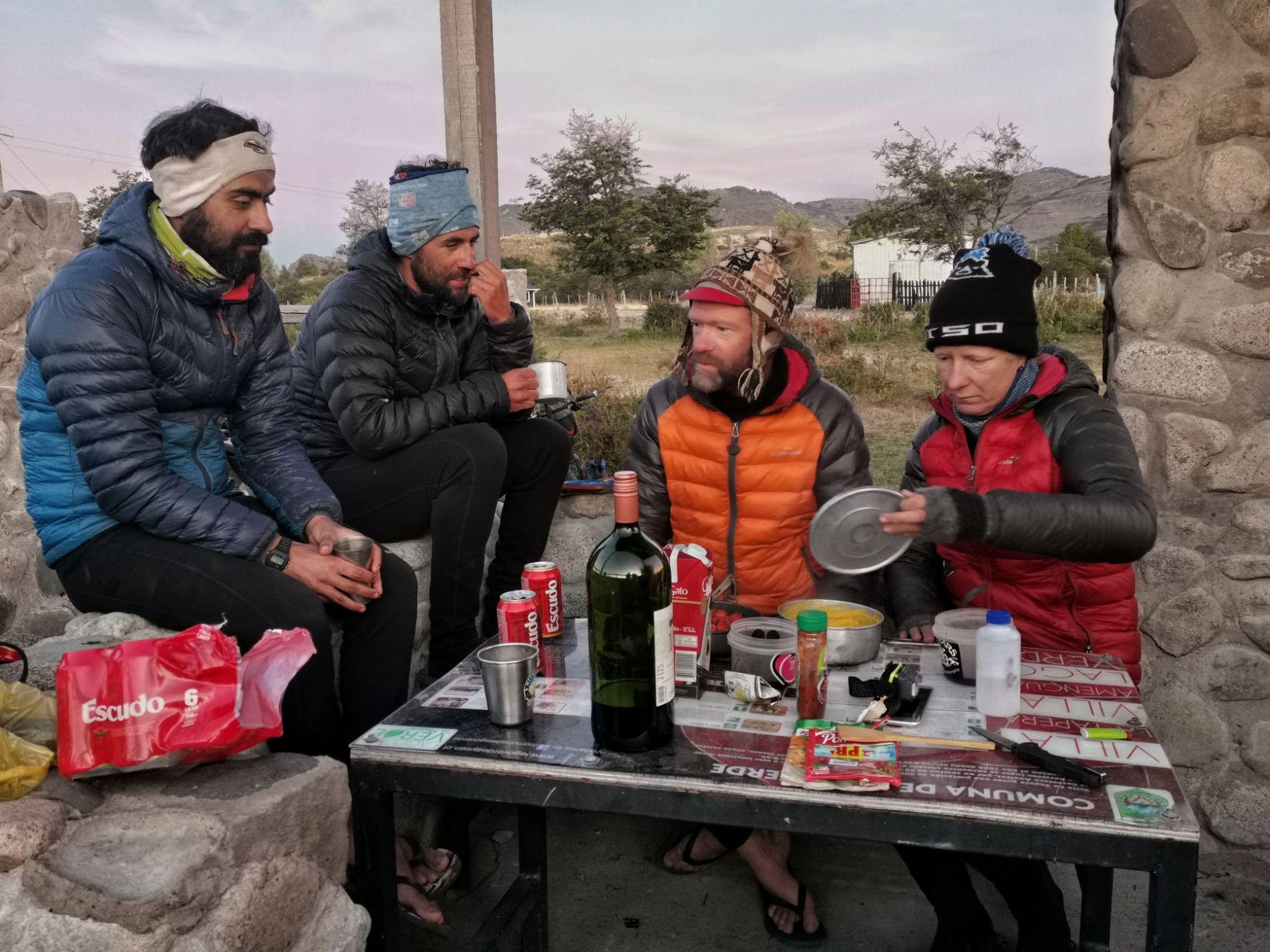 goteras de la patagonia fotos bikepacki